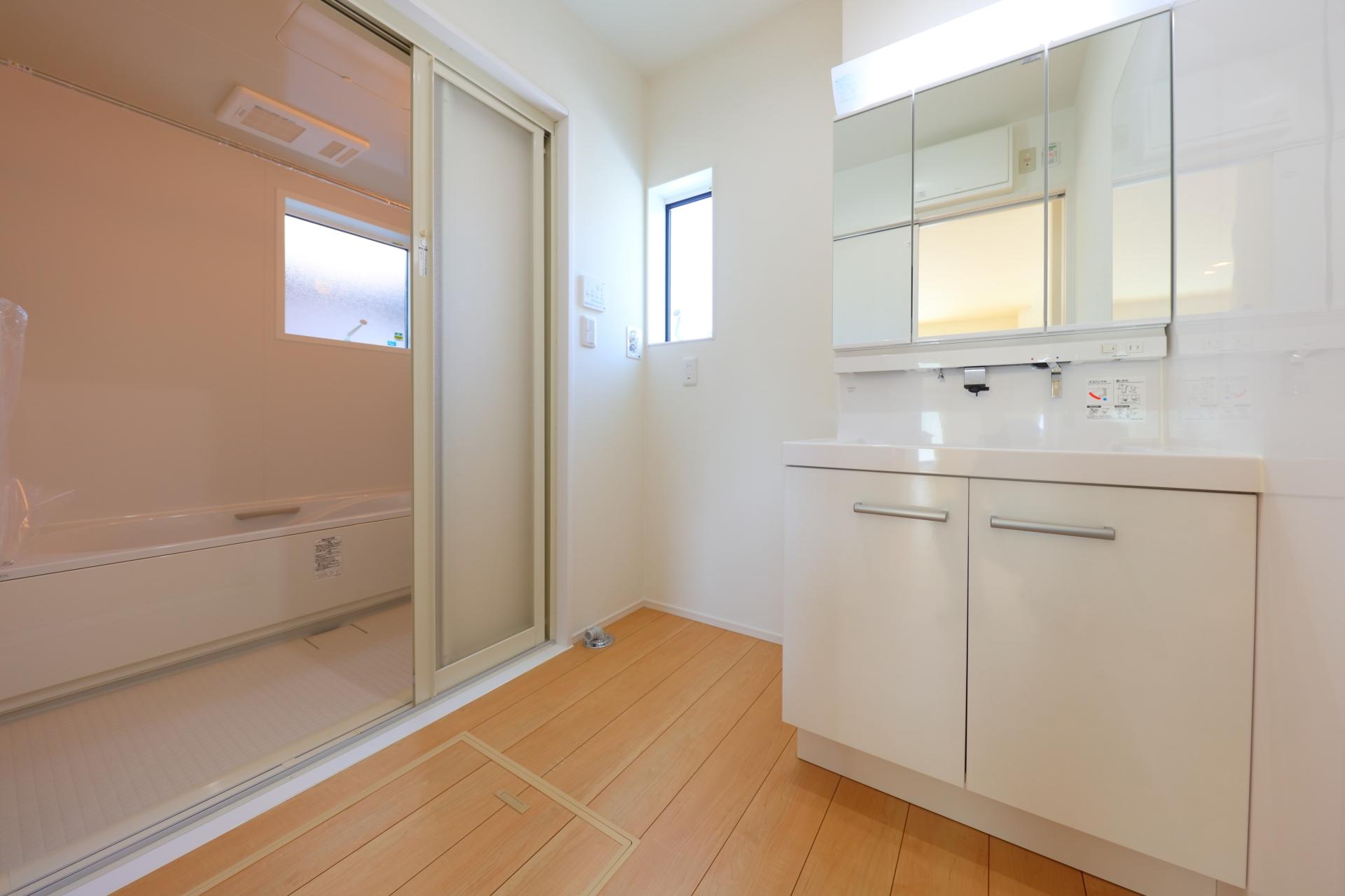 浴室を換気する場合はドア開閉がポイントになる